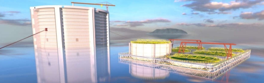 Aquantum Leap closed containment system is one example of the future of fish farming.